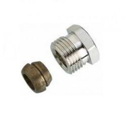 Danfoss Klemmverbinder R 1/2 AG auf 16mm 013G4116