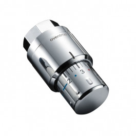 Oventrop Thermostatkopf Uni SH verchromt 1012069