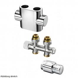 Oventrop Anschluss-Set Multiblock T Durchgang Edelstahl 1184383