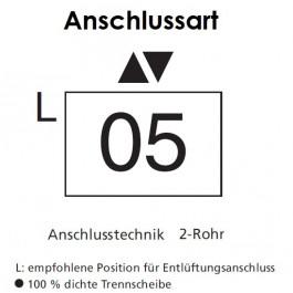 Arbonia Mehrpreis für Anschlussart 05 für Röhrenradiatoren