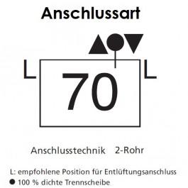 Arbonia Mehrpreis für Anschlussart 70 für Röhrenradiatoren