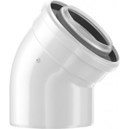 Bosch Luft-/Abgasbogen 45 Grad, d:60/100mm 7738112501