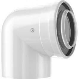 Bosch Luft-/Abgasbogen 87 Grad, d:60/100mm 7738112616
