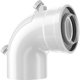 Bosch Doppelrohrbogen Prüföffnung, d:60/100mm 7738112637