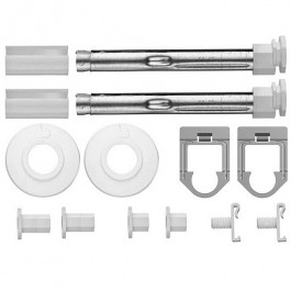 Kermi Grundsortiment Bohrkonsolen-Set für Decor bis 1050mm ZB02700001