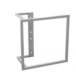 Kermi quadratischer Bügel RAL 9005 ZC01160012