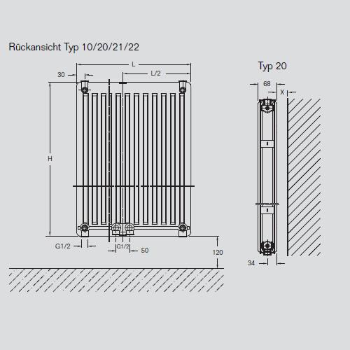 buderus flachheizk rper cv profil typ 20 7728602207 w. Black Bedroom Furniture Sets. Home Design Ideas