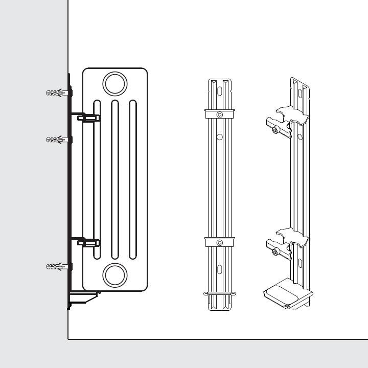 arbonia schnellmontage konsole 7747221013 w. Black Bedroom Furniture Sets. Home Design Ideas