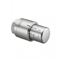 Oventrop Thermostatkopf Uni SH Edelstahl-Design 1012085