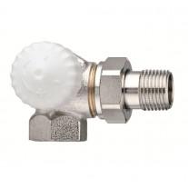 Heimeier Thermostatventil V-exact Winkeleck links 3/8'' #371301000
