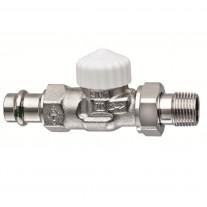 Heimeier Thermostatventil V-exact Durchgang 1/2'' Viega 371815000