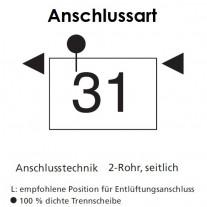 Arbonia Mehrpreis für Anschlussart 31 für Röhrenradiatoren