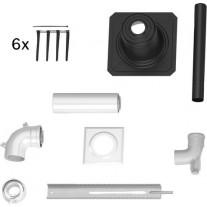 Bosch Paket zum Schacht, d:60/100mm, Kunststoff 7738112519