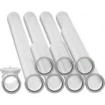 Bosch Set Abgasrohre mit Revisionsrohr d:60mm 7738112523