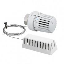 Oventrop Thermostatkopf Uni LH weiß, Fernfühler 2m 1011682