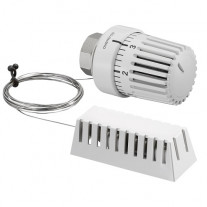 Oventrop Thermostatkopf Uni LH Fernfühler 2m, weiß 1011688