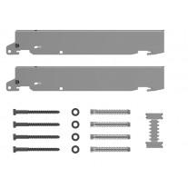Kermi Schnellmontage Konsolen Set BH 750mm ZB02660005