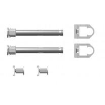 Kermi Bohrkonsolen Set, L=130mm ZB02760002