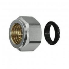 Heimeier Klemmverschraubung für Kupfer- und Stahlrohr 15 mm 1313-15.351