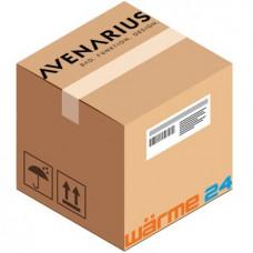 Avenarius Doppelmutter grau für Seifenspender Tischeinbau 1001390000