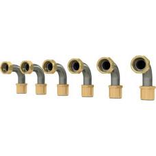 Bosch Bogen Edelstahl 90 Grad, 3/4'' (6 Stück) 7733600248