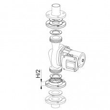 Biral Gewindeflansch Z30, 2''xDN50, 40mm (2x20)