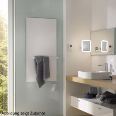 HSK Infrarot-Designheizkörper Retango H: 120 B: 60cm weiß, Metallfront 8386120-04
