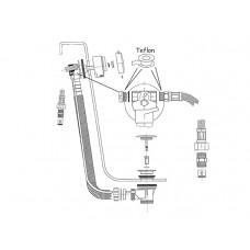 Ideal Standard Ab- und Überauf mit Zulauf T6492AA