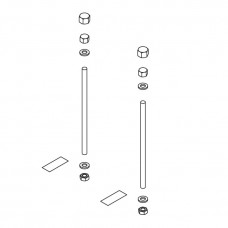 Kermi Befestigungs-Set Konvektor für BH 70mm ZB00360001