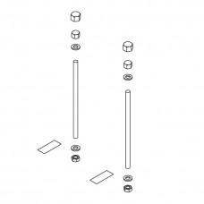 Kermi Befestigungs-Set Konvektor für BH 210mm ZB00360003